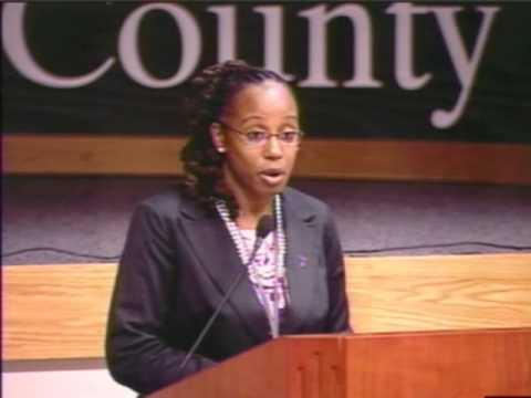 DeKalb Solicitor-General Sherry Boston Hosts Domestic Violence Awareness Program