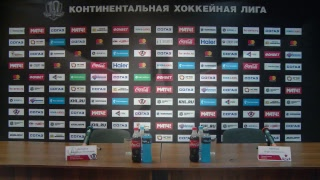 """""""Автомобилист"""" - ЦСКА. Пресс-конференция"""