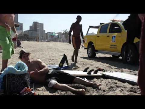 Durban beachfront lifeguards harassing surfer