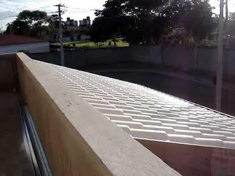 Moldura para beiral de telhado