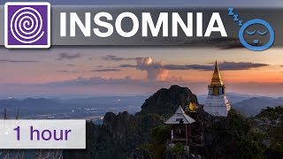 1 Hour of Insomnia Curing Delta Wave Music ☯ Relaxing Deep Sleep Music for Insomnia Sufferers