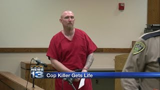 Ohio man who killed Hatch police officer sentenced to life without parole