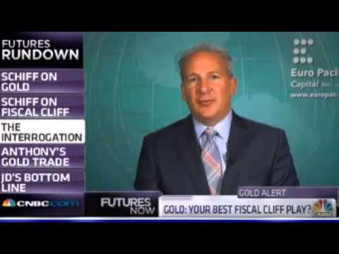 Peter Schiff 2012 - There's no Gold ceiling.