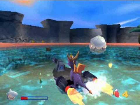 Spyro 3 – Casa della Fonte Estiva – Spiaggia della Conchiglia
