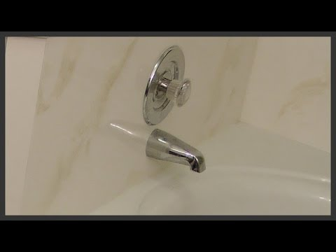 How to replace a bathtub diverter spout