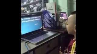 Bé An Khang (Ku Bi) Hát Karaoke 'Em Nhớ Anh Rất Nhiều''