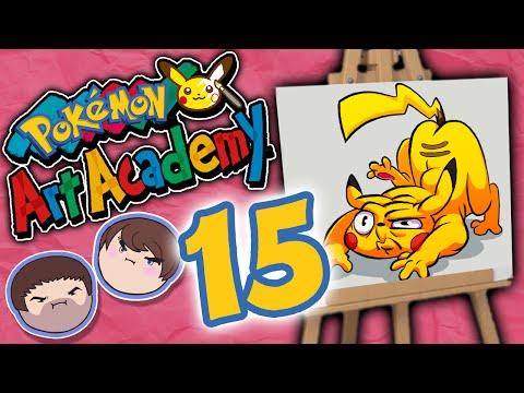 Pokemon Art Academy: Owning Mistakes - PART 15 - Grumpcade