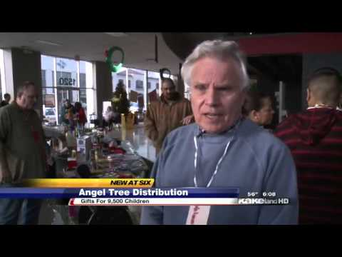 Needy Families Await Christmas gifts from Angel Tree