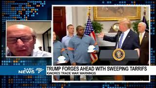 Trump's tariffs on steel and aluminum imports - Prof. John Stremlau