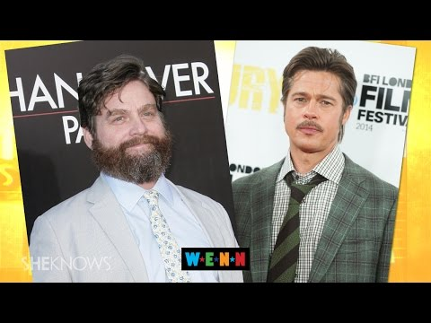 Brad Pitt Dodges Zach Galifianakis' Insults on 'Between Two Ferns' - The Buzz