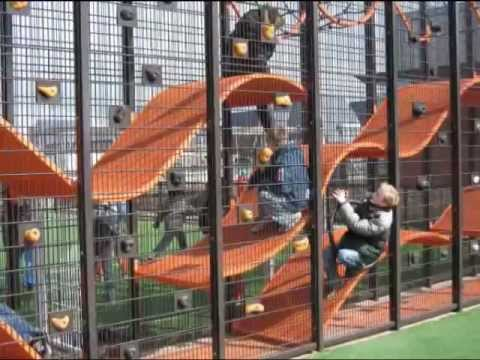 The Wallholla Playground Designed By Carve Youtube
