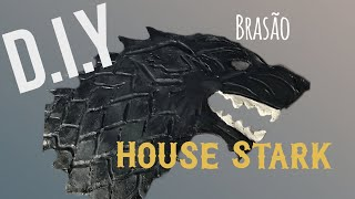 DIY - Brasão House Stark - Game of Thrones