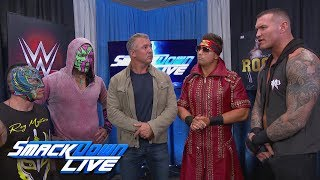 Shane McMahon gives a WWE World Cup ultimatum: SmackDown LIVE, Oct. 30, 2018