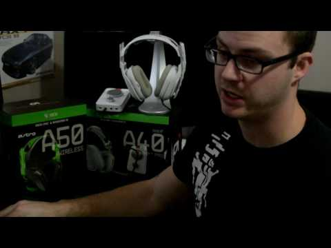 Astro Gaming headset Review: A40TR W/ mixamp v. A50