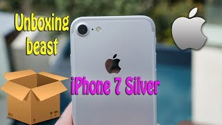 Unboxing iPhone 7 Silver 32GB
