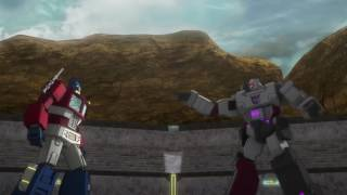 Transformers: Combiner Wars: Optimus Prime vs Megatron
