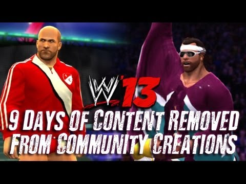 WWE '13: Content Removed From Community Creations (Under Investigation)