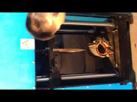 Electric motor recycling machine new dz 4 motor cracker for Electric motor recycling machine
