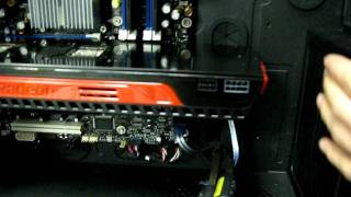 ATI Radeon HD 5970 Video Card Installation in Corsair Obsidian 800D Linus Tech Tips