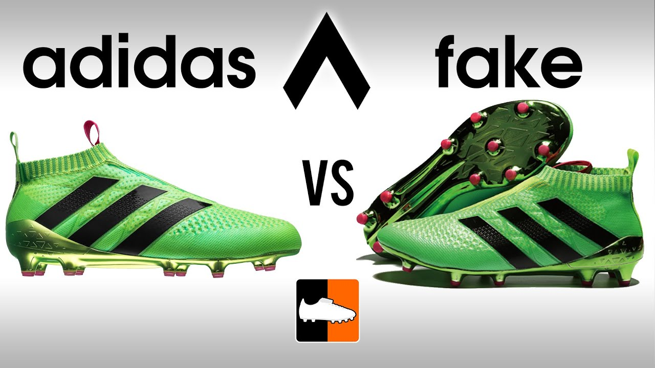 cc639fb3cba1 Fake vs Real ACE16 Purecontrol How to avoid buying Replica adidas Ace 16  Football Boots