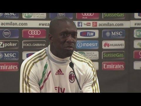 Seedorf relishing challenge at AC Milan