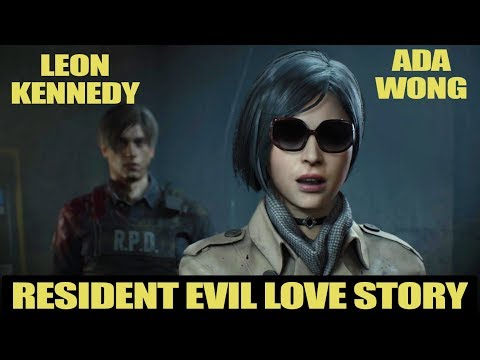 Самая красивая пара из игр -  Ada Wong and Leon Kennedy (Resident Evil Love Story)