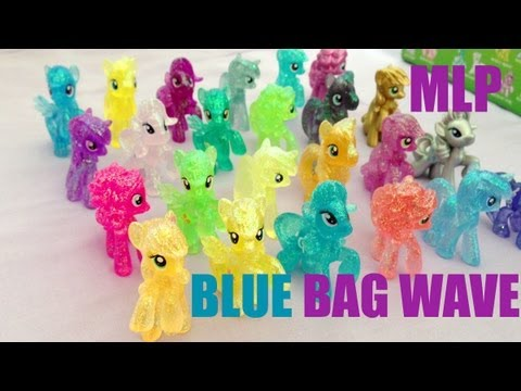 All 24 My Little Pony Blue Bag Wave Ponies