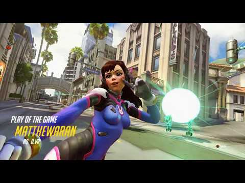 [06102018] Overwatch Play of the Game #54 (D.Va)