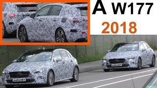 Mercedes Erlkönig A-Klasse A-Class August 2017 - prototypes W177 (2018) 4K SPY VIDEO