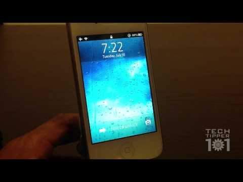 Best Lockscreen Tweak For iPhone and iPod Touch On Cydia - Unfold Tweak Review
