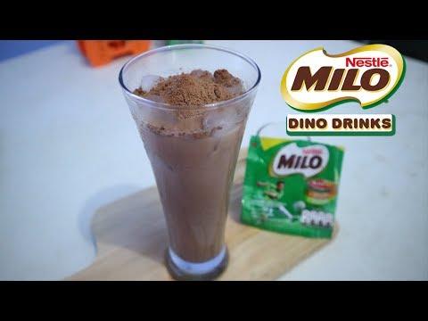 Cara Membuat Es Milo Paling Enak Hanya 2 Bahan Saja