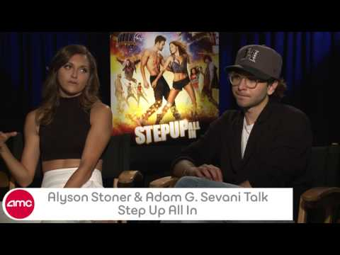 Alyson Stoner And Adam G. Sevani Chat Step Up All In With Amc video