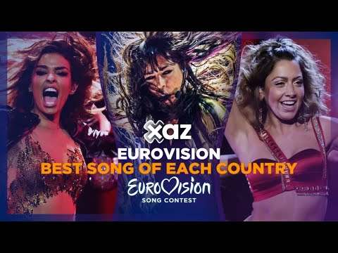 Eurovision: Best Song of Each Country (1992-2019)