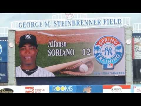 2014 New York Yankees Starting Lineup (Mar.12 @George M.Steinbrenner Field)