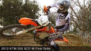MotoUSA First Ride:  2012 KTM 350 XCF-W