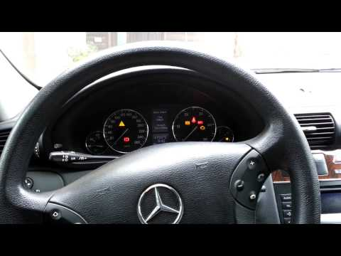 Reset automatic transmission on a mercedes