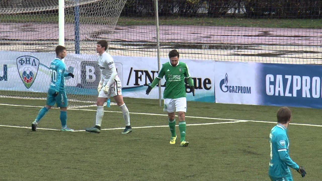 Зенит-2 - Томь 0:0 видео