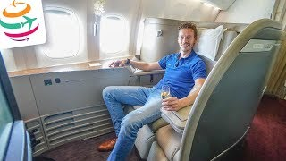 Cathay First Class 777-300ER und THE PIER First Class Lounge | GlobalTraveler.TV
