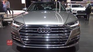 2019 Audi A8L Quattro  - Exterior And Interior Walkaround - 2018 LA Auto Show