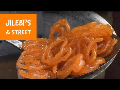 Jalebi making near Bharatpur, Rajasthan