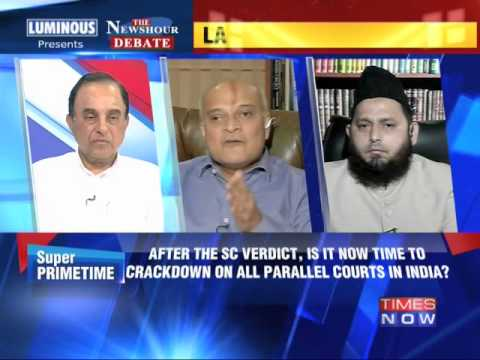 The Newshour  Debate: Can't force fatwas - Full Debate (7th July 2014)