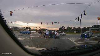 CAR CRASH IN STATESBORO GA, VETERANS HIGHWAY