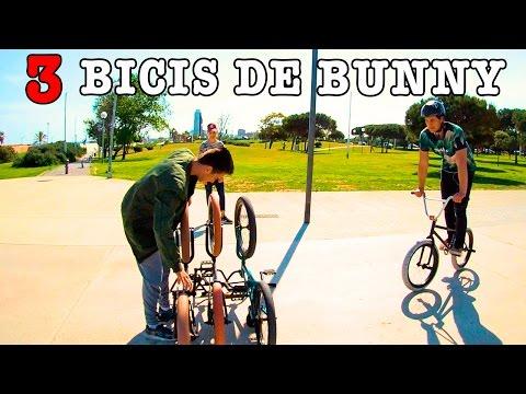 INTENTO SALTAR 3 BICIS DE BUNNY HOP CON MI BMX