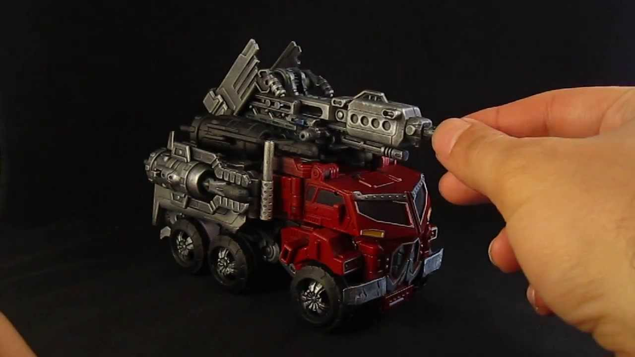 Transformers Custom Beast Hunter Optimus Prime 20 YouTube