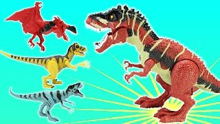 Extreme T-rex Adventure Animal Planet Playset For Kids - Dinosaurs Toys For Kids