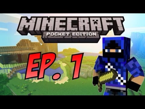 Minecraft PE Survival: Ep. 1 - A New Beginning