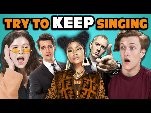 Teens React To Try To Keep Singing Along Challenge thumbnail