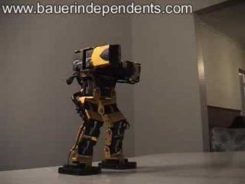 Robonova Robot Exercise Video!