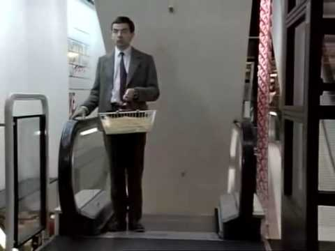 Mr. Bean --- shopping Video