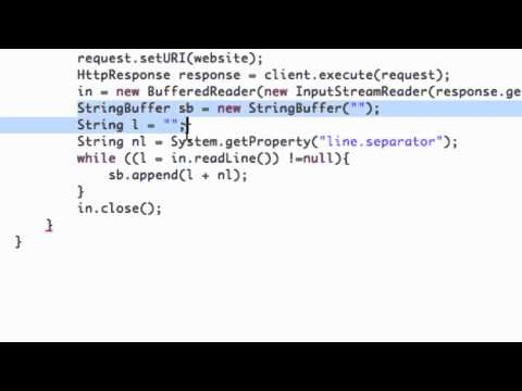 Android Application Development Tutorial   149   Viewing Internet data via StringBuffer
